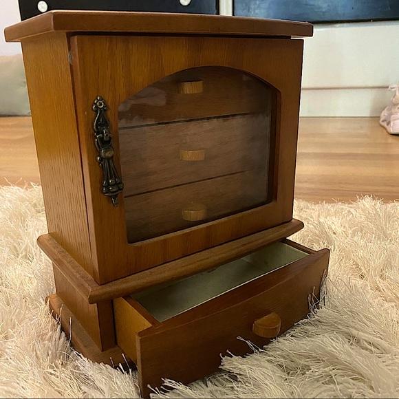 Wooden Accessories Box